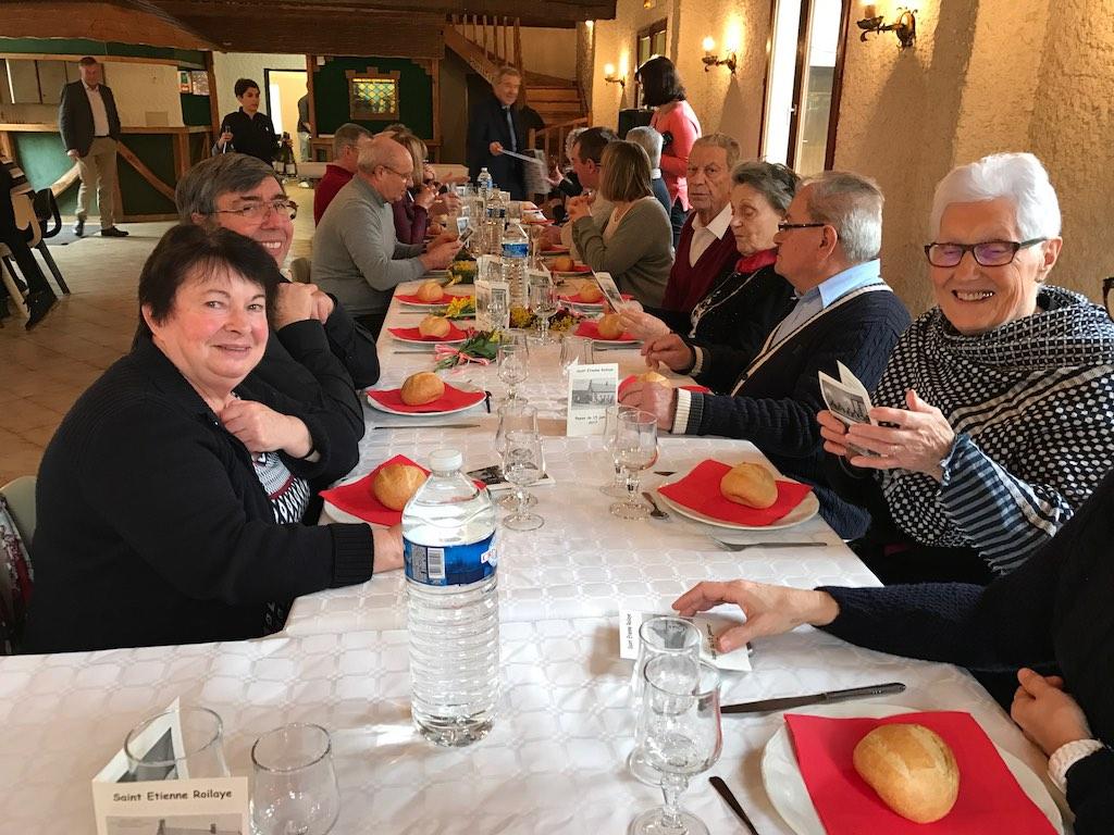 Repas des aînés du 15 janvier 2017