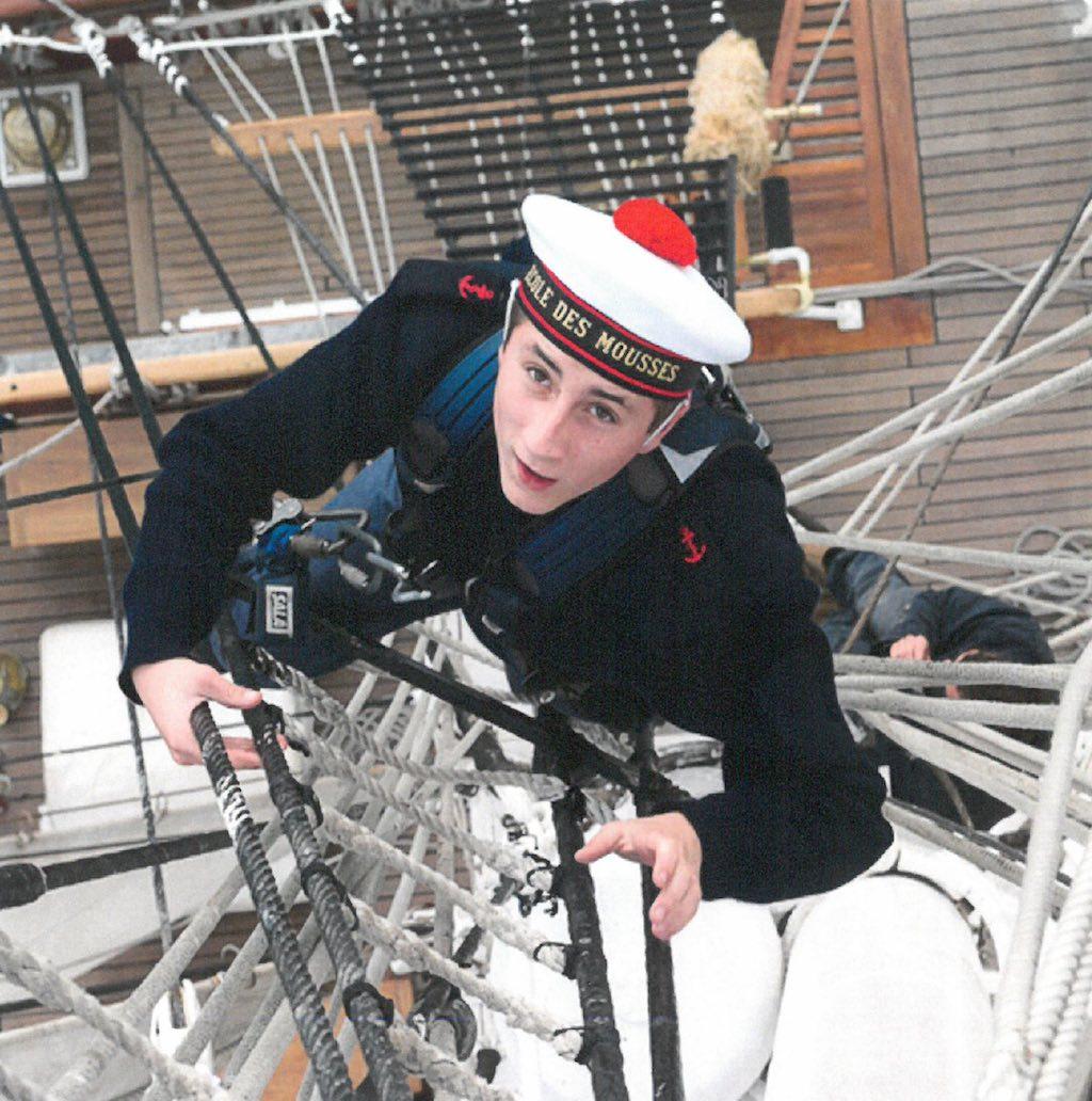 L'École des mousses de la Marine recrute