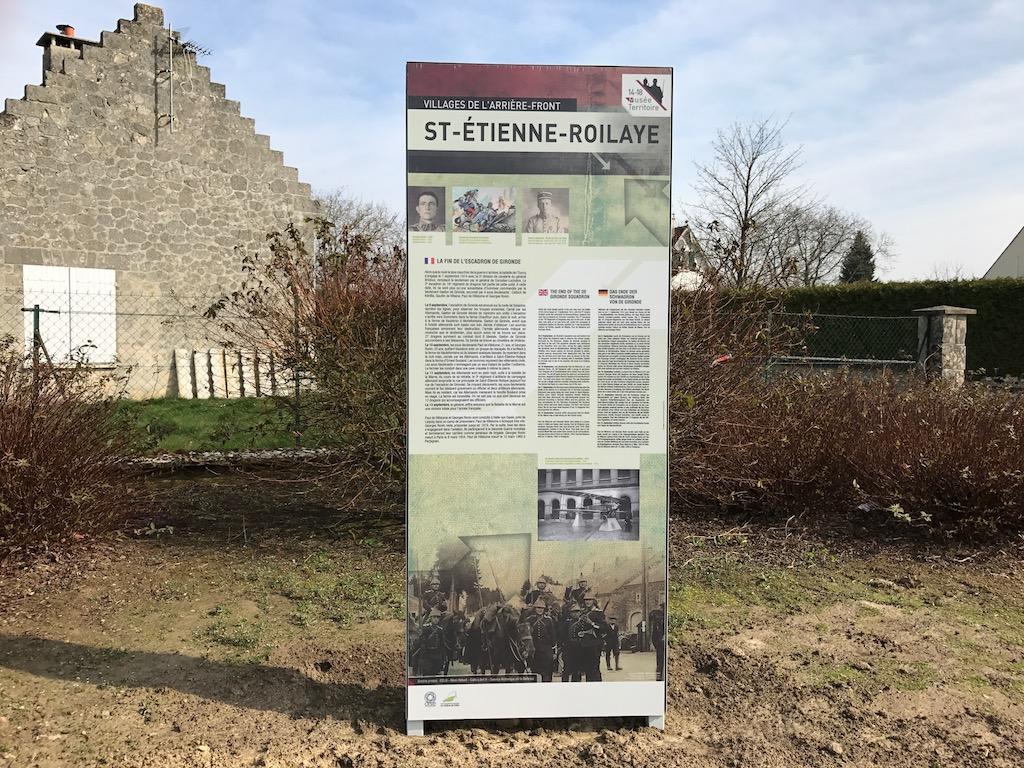 Saint-Etienne-Roilaye : un village de l'arrière-front