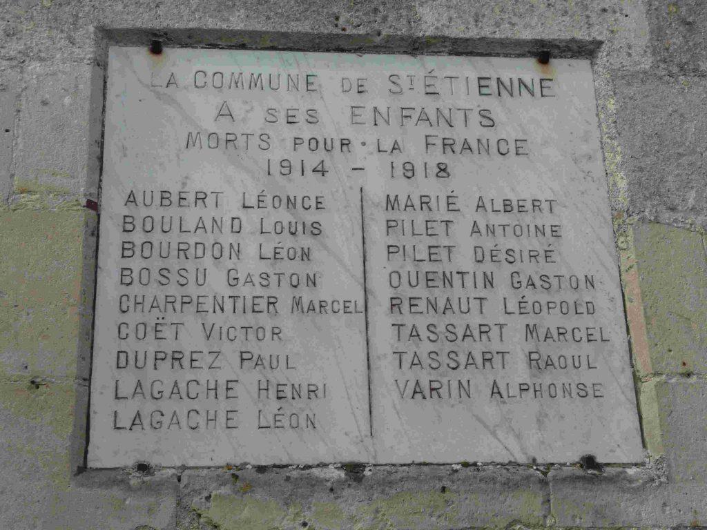 Cérémonie commémorative du 8 mai à St-Etienne-Roilaye