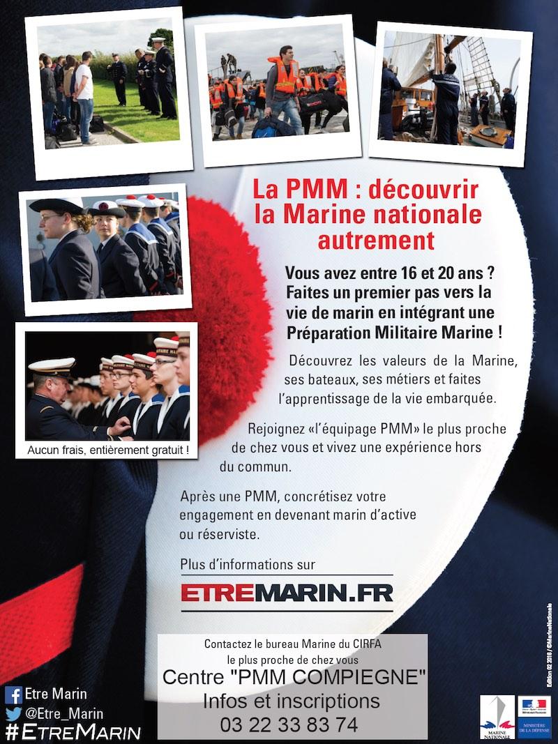 Préparation Militaire Marine de Compiègne : cycle de septembre 2017