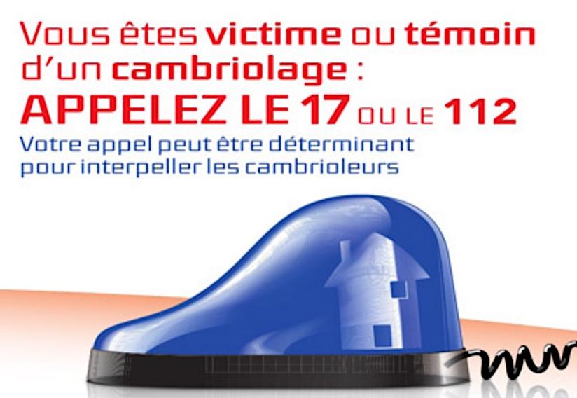 Message de PRÉVENTION de la gendarmerie : tranquillité vacances
