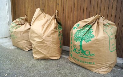 Collecte des déchets verts