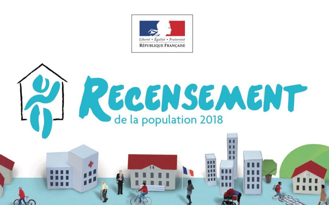 Le recensement de la population 2018