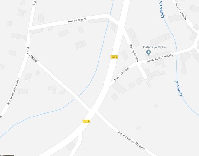 Nouvelle signalisation routière à Genancourt