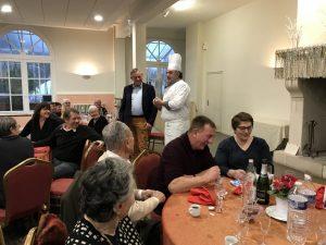 Repas des aînés 12 janvier 2020 @ Thermes de Pierrefonds