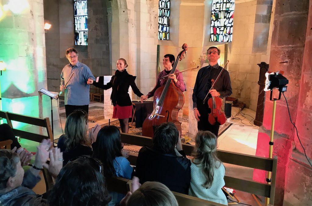 Spectacle musical du Quatuor Arcantum