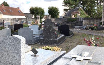 Avis d'état d'abandon de concessions au cimetière