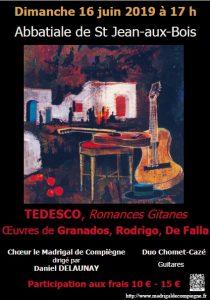 Dimanche 16 juin concert à St-Jean-aux-Bois @ St-Jean-aux-Bois