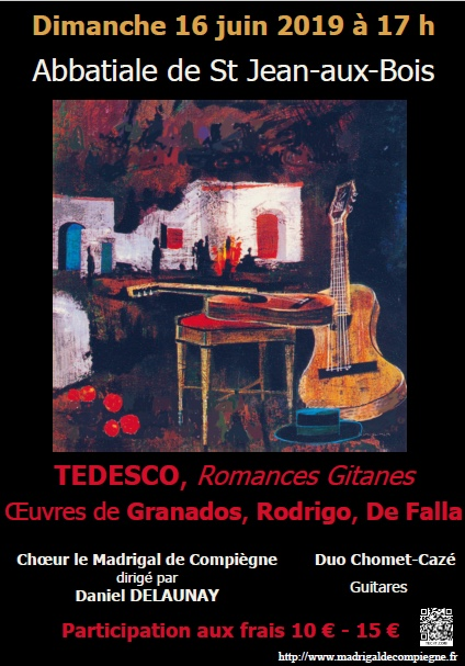 Dimanche 16 juin concert à St-Jean-aux-Bois