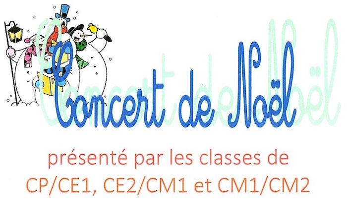Concert des enfants du RPI