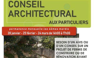 Conseil architectural aux particuliers