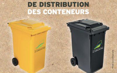 Distribution des conteneurs