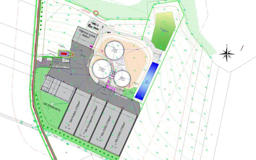 Consultation publique relative au projet de méthaniseur de Saint-Etienne-Roilaye